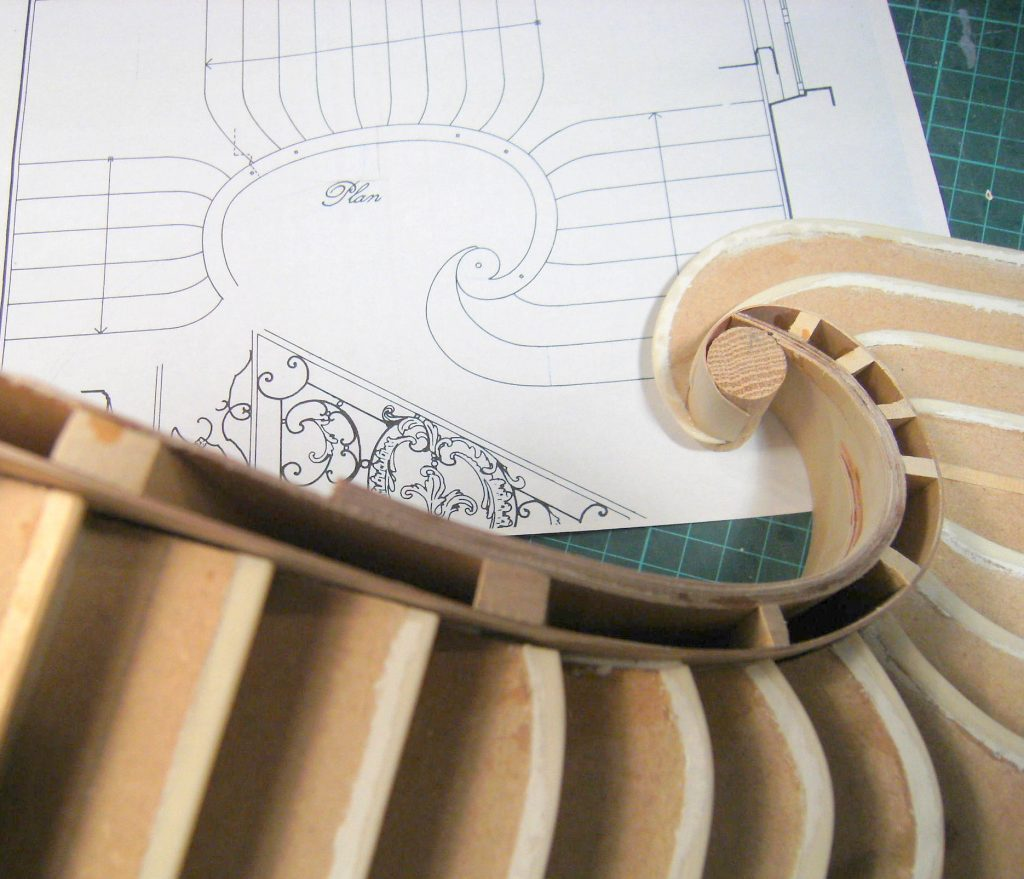 Making a Curved Staircase